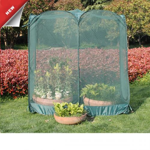Double greenhouse cover